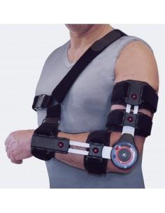UniBor 01 elbow Tutore articolato gomito ambidestro regolabile Tielle