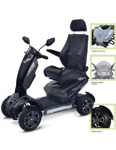 Scooter elettrico per anziani Wimed Vita S12 Sport