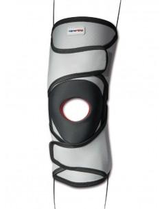Ginocchiera tubolare con stecche e stabilizzatore rotuleo Genutonic TO3115 Tenortho