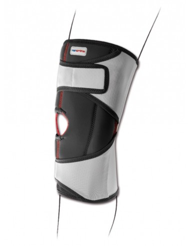 Ginocchiera elastica aperta con aste Genutonic Tenortho 3117