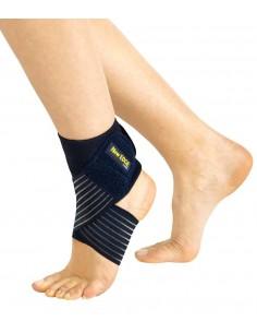 Cavigliera elastica con bendaggio a 8 Pavis 015