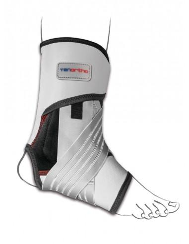 Cavigliera elastica Gamma Tonic in fibra carbonio con stabilizzazione latero-mediale Tenortho 4112