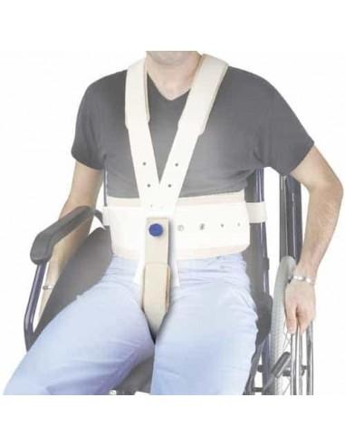 Supporto pelvico  per cintura contenimento carrozzina Alboland ALB-612BR