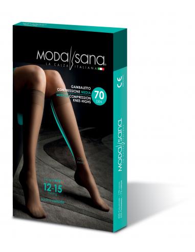 Gambaletto 70 Den maglia a rete 12-15 mmgh Modasana by Gloria