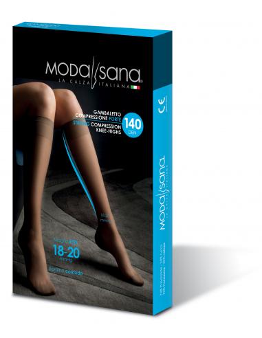Gambaletto 140 Den maglia a rete 18-20 mmgh Modasana by Gloria