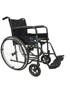 Carrozzina economica pieghevole per anziani e disabili
