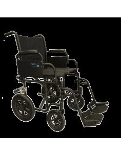 Carrozzina economica da transito per disabil e anziani