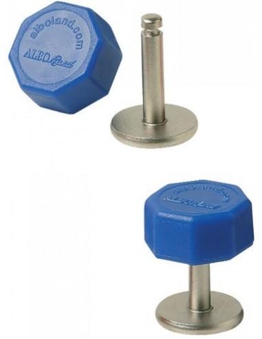 Bottone e chiave di sicurezza per cinture Alboland