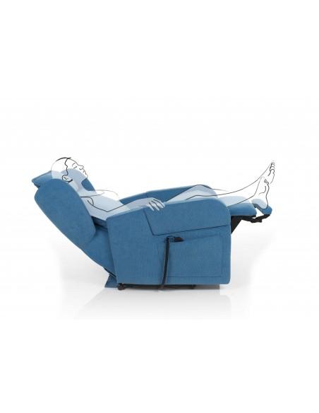Poltrona Relax Karol 2 motori personalizzabile