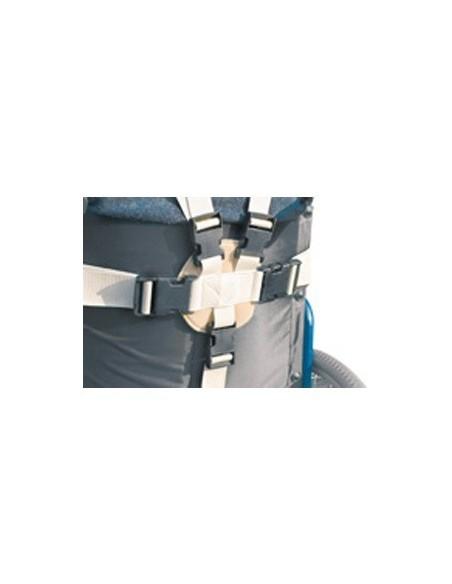 Sistema di fissaggio del pettorale pelvico con bretelle ALB-685P