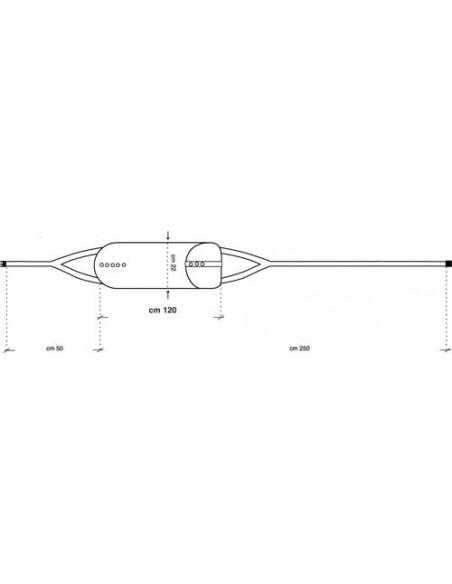 Cintura contenimento letto semplice Alboland ALB-687