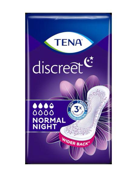 Tena discreet Night. Assorbente perdite urinarie