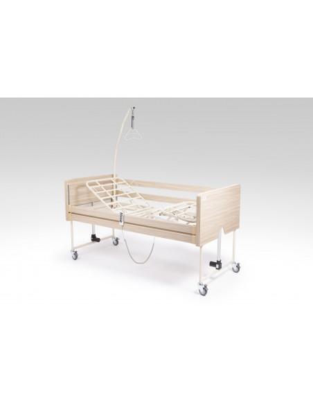 Letto elettrico ortopedico con sponde e alzamalato